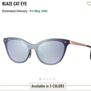 Blaze Cat Eye Ray bans